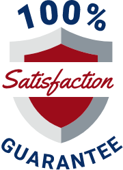Satisfaction gurarantee badge